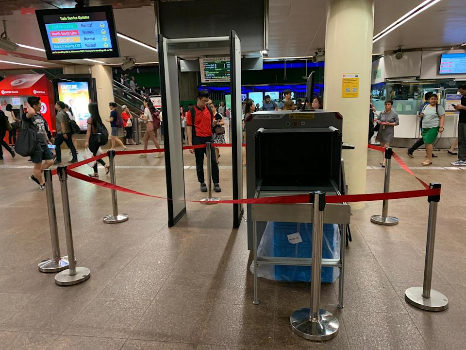 Khaw said that it is timely to review and update the security measures, given that Singapore's public transport system has expanded significantly and remains a
