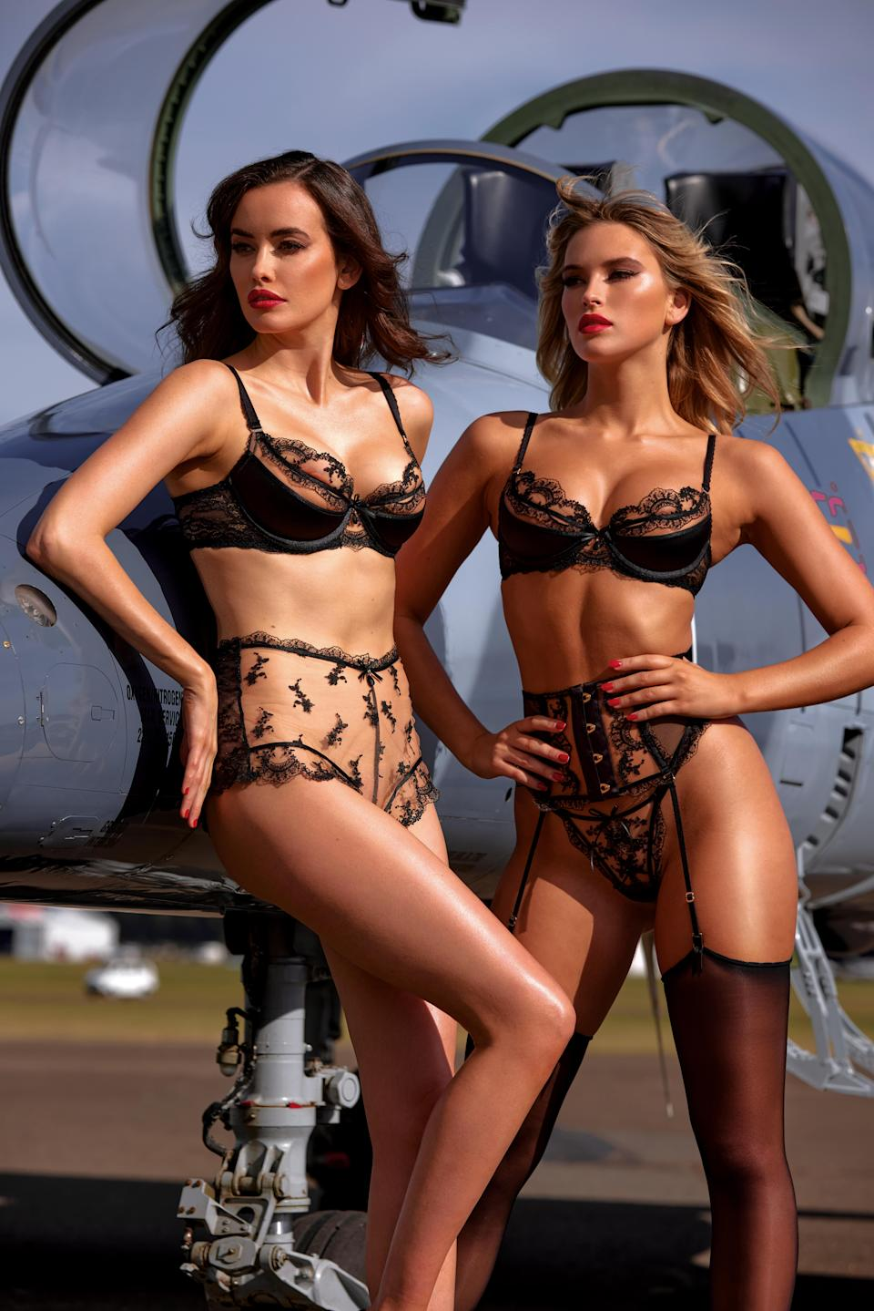 Australian lingerie brand Honey Birdette, which will soon be acquired by Playboy, plans to expand into loungewear and swimwear. - Credit: Courtesy Photo