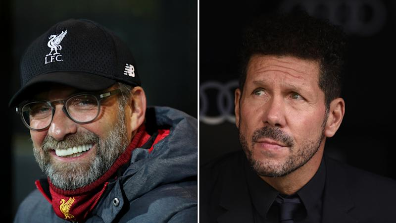 Klopp: If I'm on level four for intensity, Simeone is on level 12