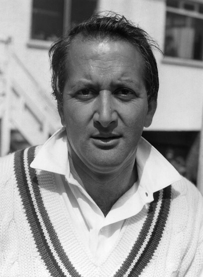 May 1972:  Worcestershire cricketer Basil D'Oliveira.  (Photo by Evening Standard/Getty Images)
