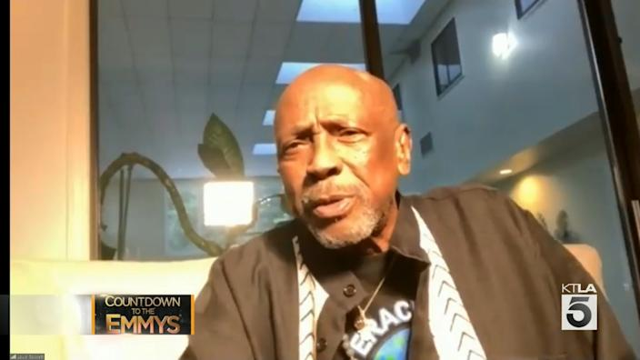 """Actor Lou Gossett Jr. in """"Countdown to the Emmys"""""""
