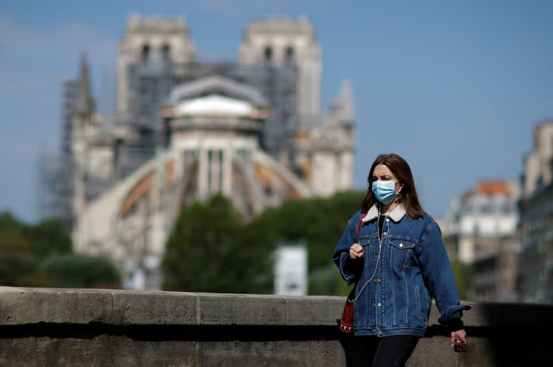 Restoration work resumes slowly at Notre Dame Cathedral in Paris