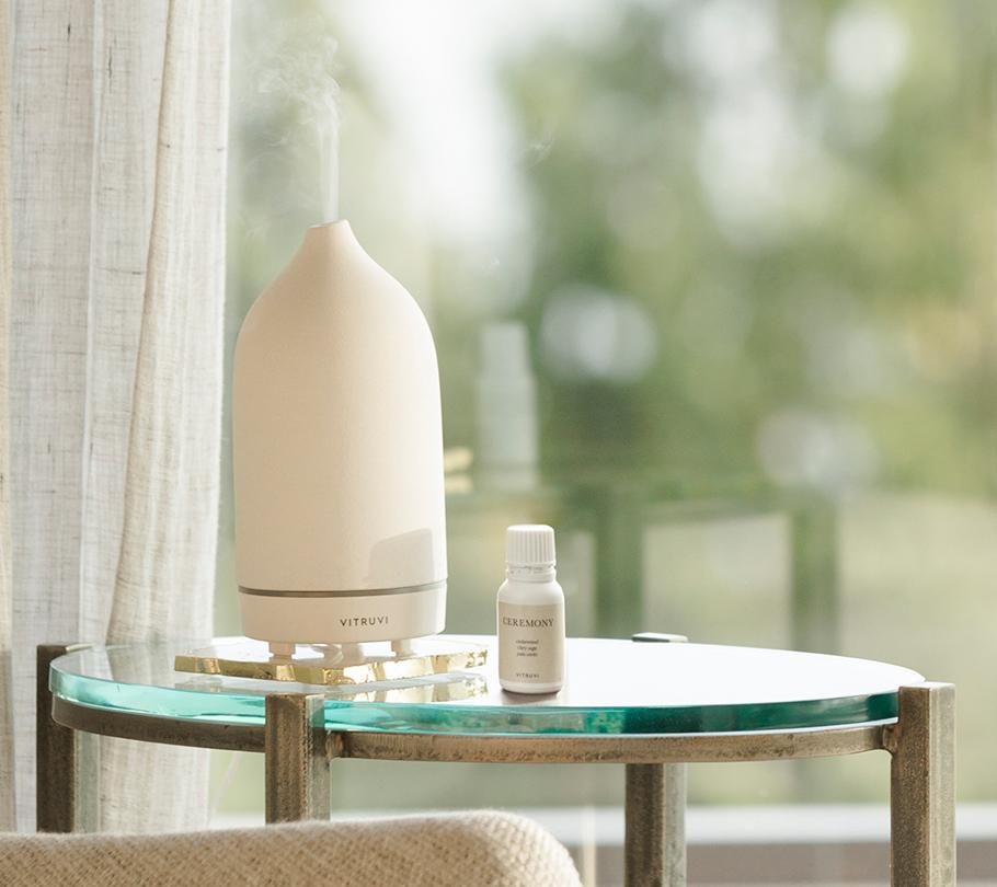 """<h2>Vitruvi Stone Diffuser </h2><br>If you haven't gifted this to your mom yet, now is the time — she's only been dropping hints about wanting one of these bad boys for the last two years.<br><br><strong>Vitruvi</strong> Stone Essential Oil Diffuser, $, available at <a href=""""https://go.skimresources.com/?id=30283X879131&url=https%3A%2F%2Fwww.anthropologie.com%2Fshop%2Fvirtuvi-white-stone-essential-oil-diffuser"""" rel=""""nofollow noopener"""" target=""""_blank"""" data-ylk=""""slk:Anthropologie"""" class=""""link rapid-noclick-resp"""">Anthropologie</a><span class=""""copyright"""">Photo Courtesy of Free People.</span>"""