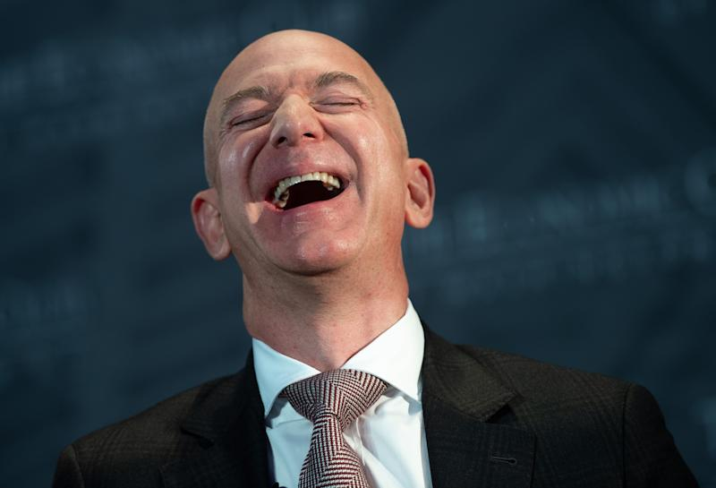 Jeff Bezos, homem mais rico do mundo. (Foto: SAUL LOEB/AFP via Getty Images)