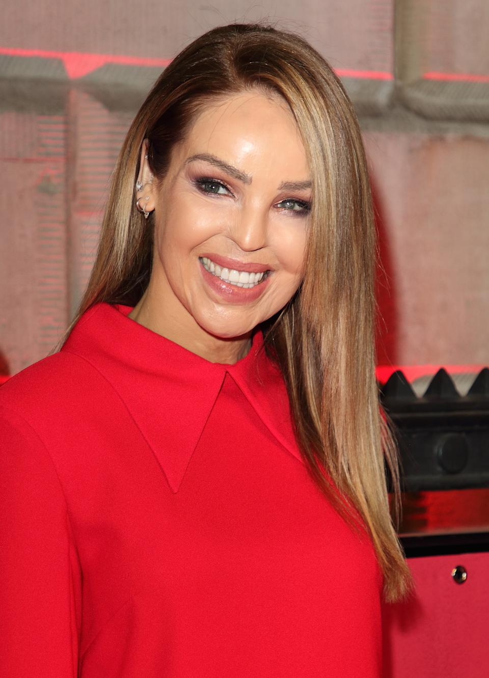 Katie Piper attends The Sun Military Awards 2020 at the Banqueting House in London. (Photo by Keith Mayhew / SOPA Images/Sipa USA)