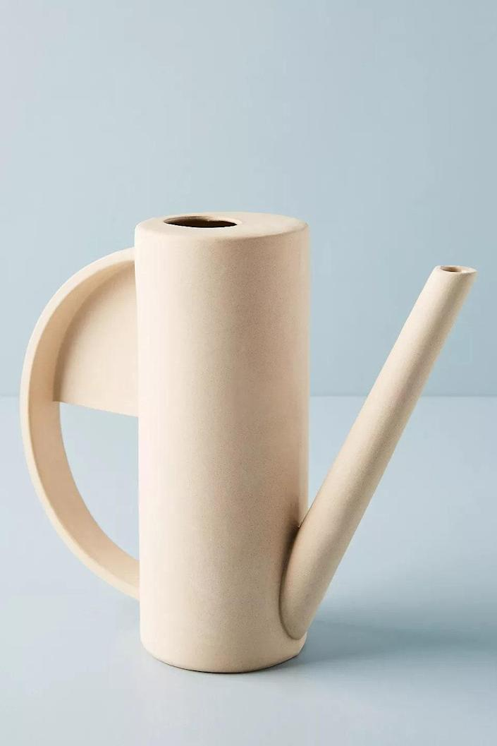 "$210, Anthropologie. <a href=""https://www.anthropologie.com/shop/hadron-watering-can"" rel=""nofollow noopener"" target=""_blank"" data-ylk=""slk:Get it now!"" class=""link rapid-noclick-resp"">Get it now!</a>"