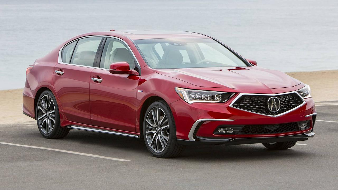 """<p>P-AWS is also employed on the <a rel=""""nofollow"""" href=""""https://www.motor1.com/acura/rlx/"""">Acura RLX</a> sedan, where it's standard, again, with front-wheel drive but not offered with the car's optional all-wheel drive. <a rel=""""nofollow"""" href=""""https://www.acura.com/performance/modals/precision-all-wheel-steer"""">Acura says</a> that P-AWS can, """"help maneuver tight areas, aid in smooth lane changes and assist in braking stability."""" <em>(The RLX Sport Hybrid, which does not feature P-AWS, is pictured.)</em></p>"""