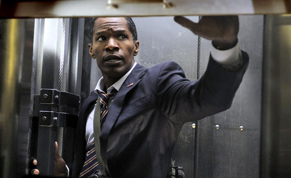 """Jamie Foxx in Columbia Pictures' """"White House Down"""" - 2013"""