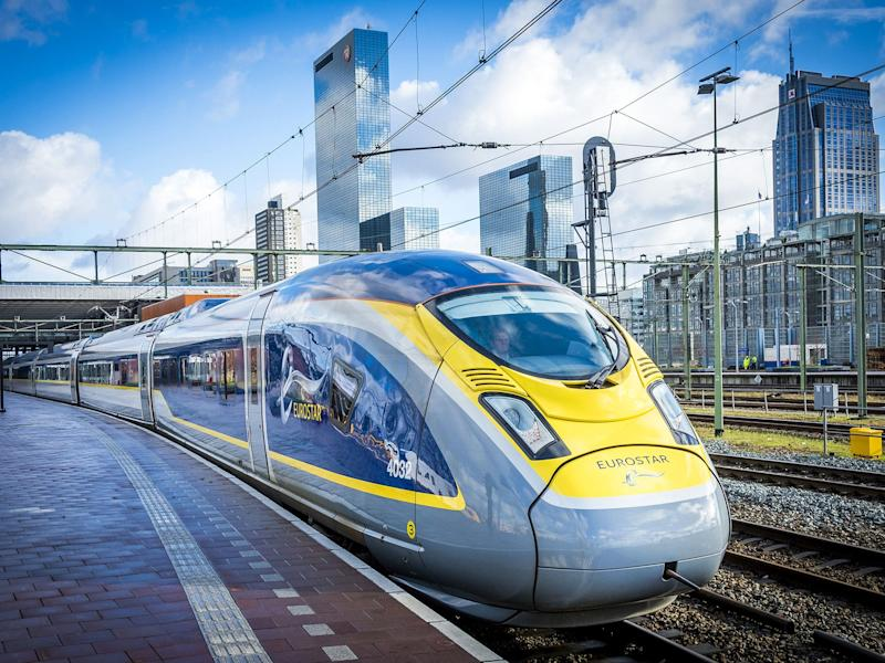 The Eurostar has come a long way since launching in 1994: AFP/Getty