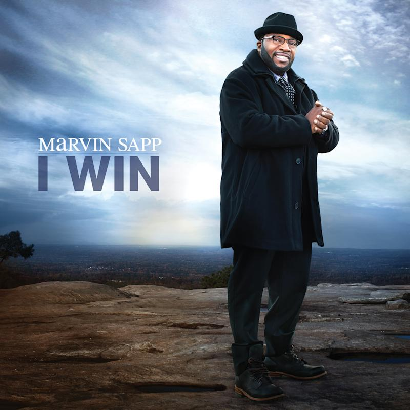 """In this CD cover image released by Verity/Zomba, the latest release by Marvin Sapp, """"I Win,"""" is shown. (AP Photo/Verity/Zomba)"""
