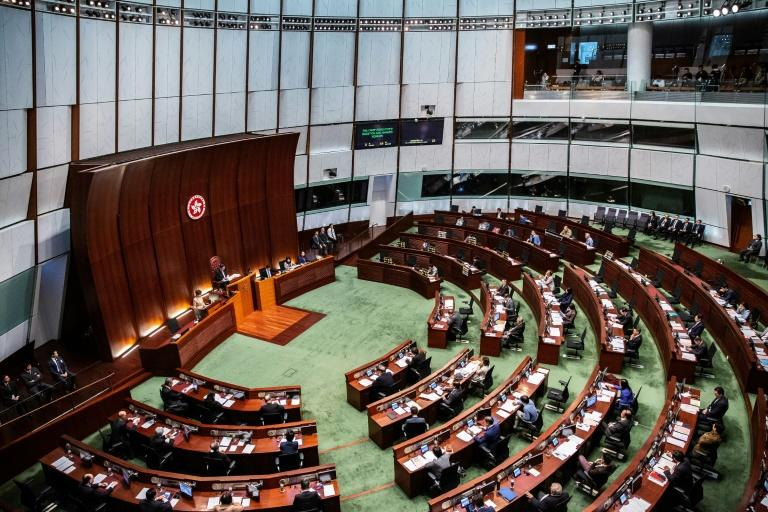 China extends Hong Kong legislature by at least a year