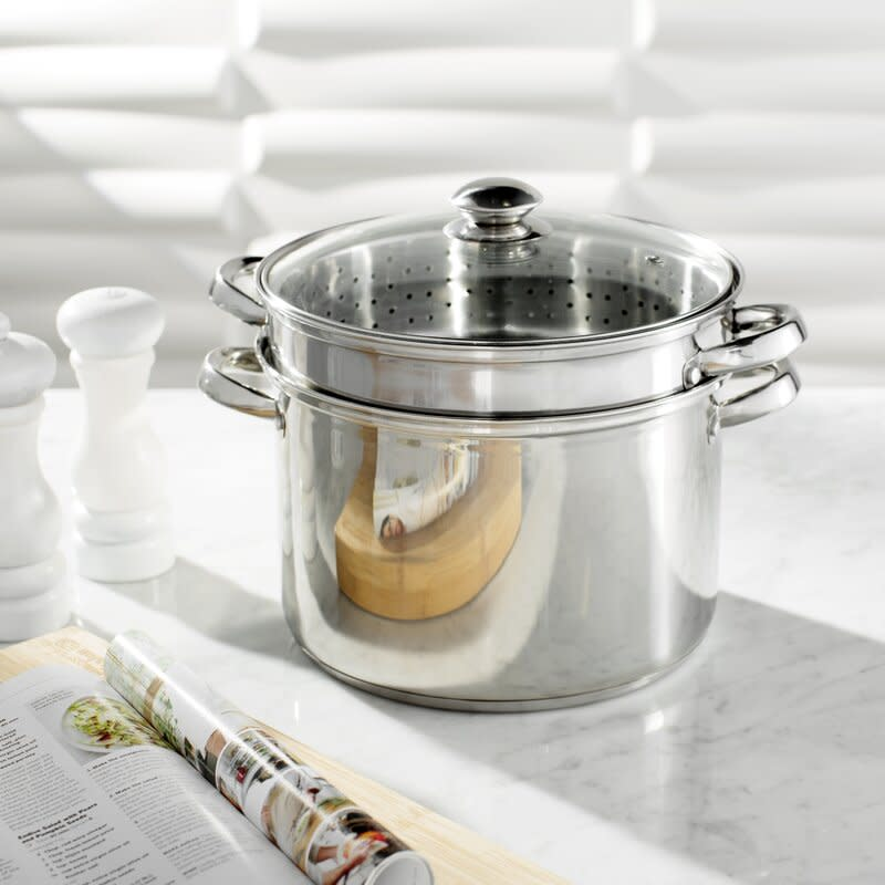 Wayfair Basics Multi-Pot with Lid. Image via Wayfair.