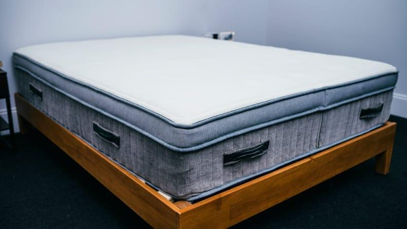 The all-natural Awara mattress has great edge support and a firm-but-comfortable sleep surface.