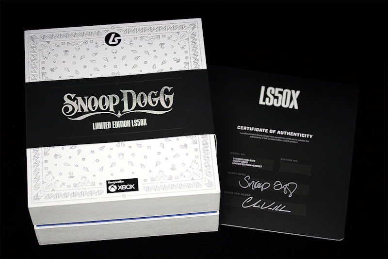 win LucidSound LS50X Snoop Dogg Limited Edition image