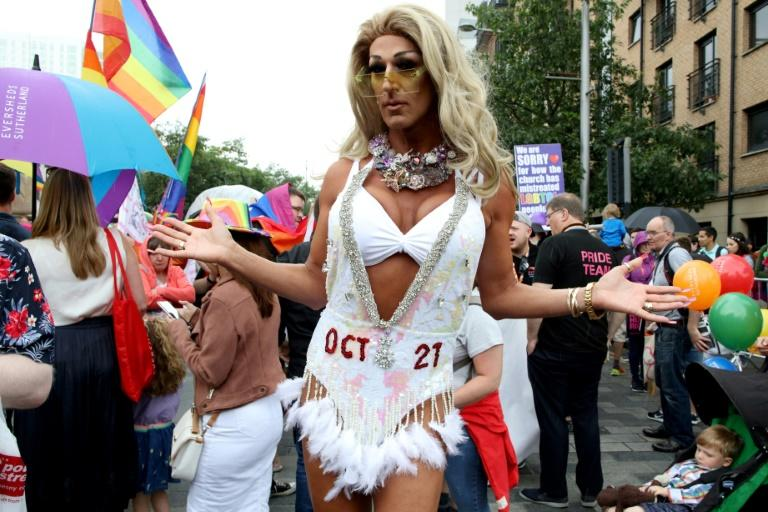 October 21 was the deadline for lawmakers in Northern Ireland to prevent the relaxation of the territory's restrictive laws on abortion and same-sex marriages (AFP Photo/Paul Faith)