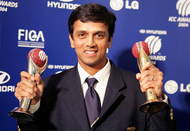 Dravid was awarded the ICC Player of the Year and the Test Player of the Year at the inaugural awards ceremony held in September 2004.
