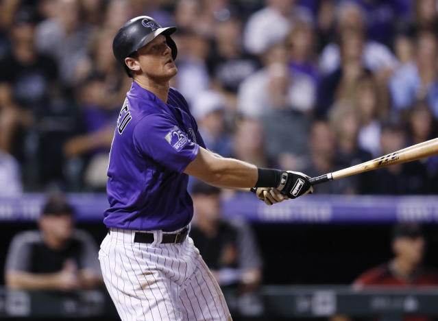 Because he's a smooth-fielding second baseman and a batting champ and is just 30, D.J. LeMahieu will get paid. (AP)