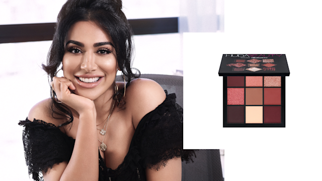 "<p>When vloggers and Instagram influencers say, ""GOALS,"" we can't help but imagine a powerhouse like Huda Kattan. The self-made entrepreneur trained as a makeup artist before launching her company with false eyelashes in 2013. Fast-forward five years later, and Huda Beauty has foundations (for diverse skin tones), highlighters, lip sets, and more that are sold at Sephora, JC Penney, and Selfridges, just to name a few retailers. <br><br>Mauve Obsessions Mini Eyeshadow Palette, $27, <a href=""http://shophudabeauty.com/product/obsessions-palette-mauve/?v=7516fd43adaa"" rel=""nofollow noopener"" target=""_blank"" data-ylk=""slk:shophudabeauty.com"" class=""link rapid-noclick-resp"">shophudabeauty.com</a>. (Art by Quinn Lemmers for Yahoo Lifestyle) </p>"