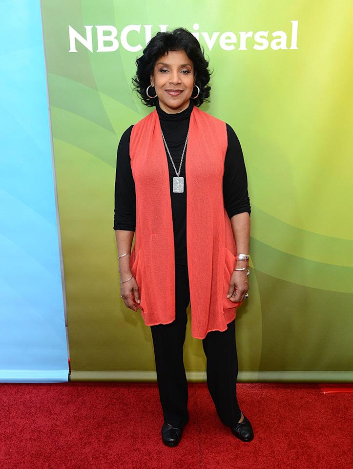 """Phylicia Rashad attends NBCUniversal's """"2013 Winter TCA Tour"""" Day 1 at Langham Hotel on January 6, 2013 in Pasadena, California."""
