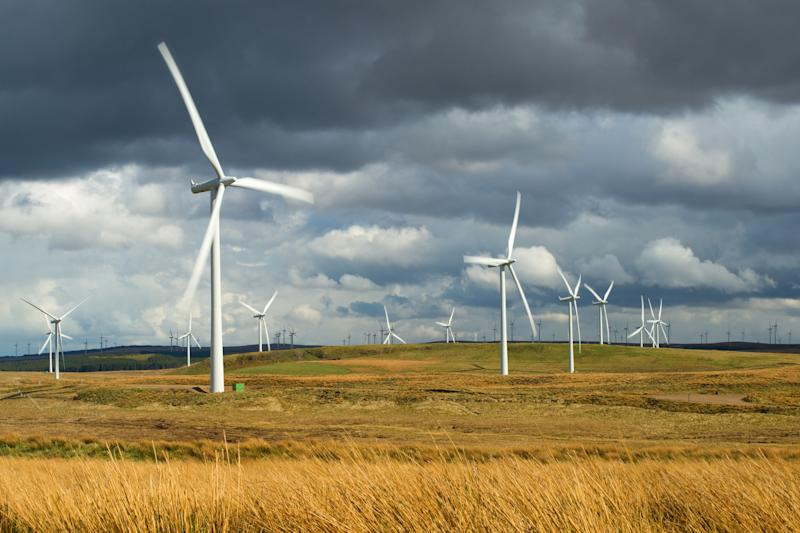 Scotland just had a huge three months of wind power production