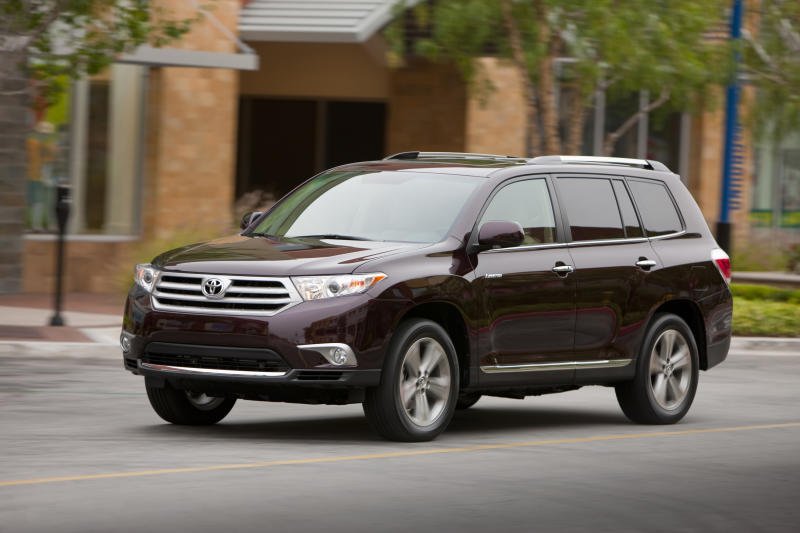 Toyota Highlander is comfortable family vehicle