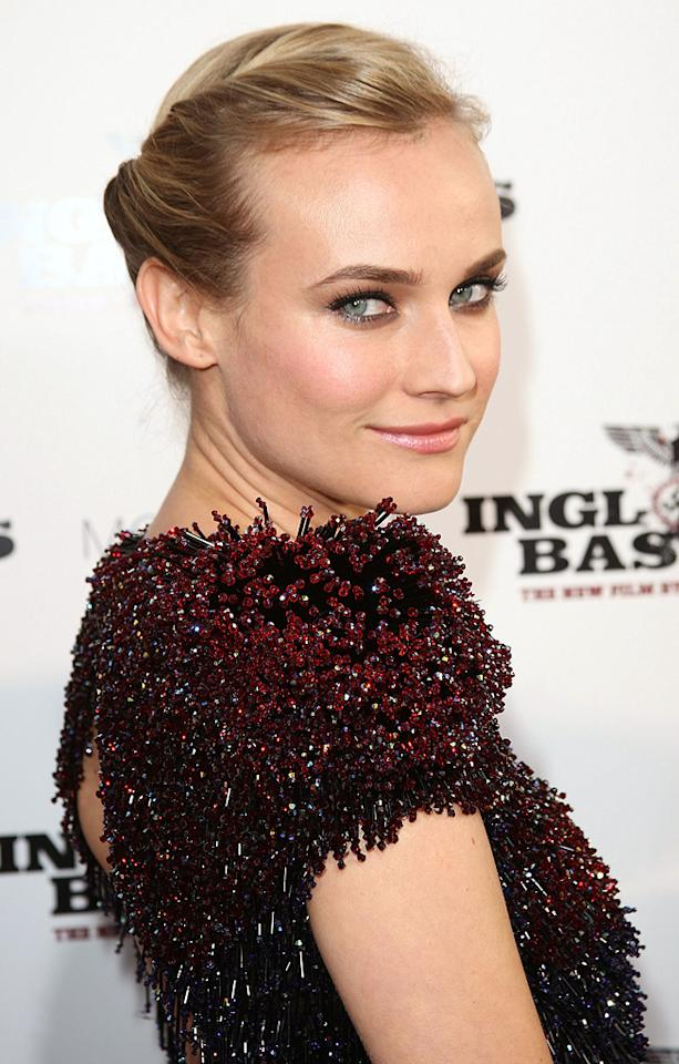 "<a href=""http://movies.yahoo.com/movie/contributor/1808488303"">Diane Kruger</a> at the Los Angeles premiere of <a href=""http://movies.yahoo.com/movie/1808404206/info"">Inglourious Basterds</a> - 08/10/2009"