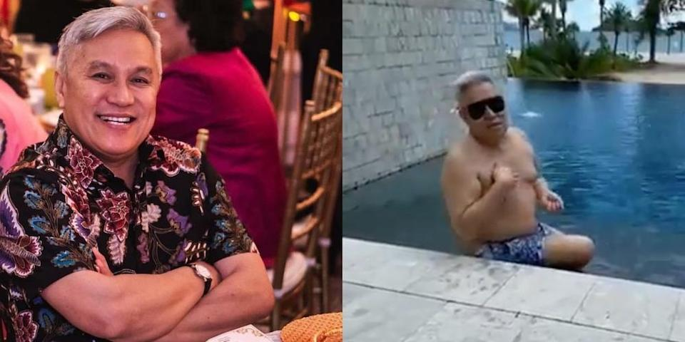 Chef Wan proved that men are not exempt when it comes to body-shaming and outfit policing on social media. — Pictures from Instagram/chefwan58