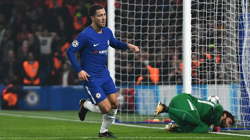 Chelsea 3 Roma 3: Hazard brace rescues Conte's men after Dzeko double