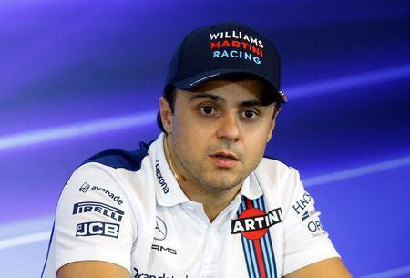 Formula One - F1 - Belgian Grand Prix - Stavelot, Belgium - August 24, 2017 Williams' Felipe Massa during a press conference ahead of the Belgian Grand Prix REUTERS/Francois Lenoir