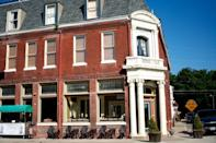"""<p>Weston is a classic weekend daytrip destination, a town where the main street is lined with restored historic buildings that once outfitted wagon trains. Today, it's all about <a href=""""http://westonmo.com/?page=shopping"""" rel=""""nofollow noopener"""" target=""""_blank"""" data-ylk=""""slk:antiques and artisan shops"""" class=""""link rapid-noclick-resp"""">antiques and artisan shops</a>.</p><p><a href=""""https://flic.kr/p/8rMhim"""" rel=""""nofollow noopener"""" target=""""_blank"""" data-ylk=""""slk:Flickr photo by Randy Lane"""" class=""""link rapid-noclick-resp""""><em>Flickr photo by Randy Lane</em></a></p>"""