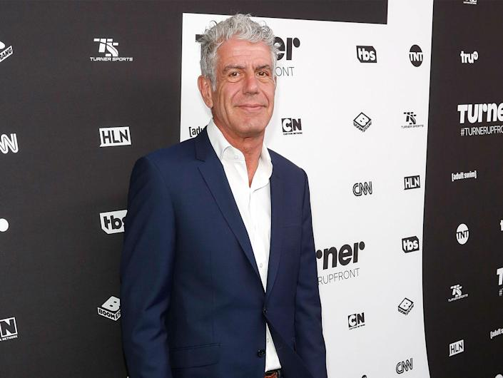 """<p>Three months after <a href=""""https://people.com/food/anthony-bourdain-obituary/"""" rel=""""nofollow noopener"""" target=""""_blank"""" data-ylk=""""slk:his death in 2018"""" class=""""link rapid-noclick-resp"""">his death in 2018</a>, Anthony Bourtain was honored with posthumous Emmys for his CNN series, <em>Anthony Bourdain: Parts Unknown. </em>Bourdain <a href=""""https://people.com/food/anthony-bourdain-posthumous-emmy-awards-parts-unknown/"""" rel=""""nofollow noopener"""" target=""""_blank"""" data-ylk=""""slk:personally won"""" class=""""link rapid-noclick-resp"""">personally won</a> outstanding informational series or special and outstanding writing for a nonfiction program — an award he was said to have """"coveted,"""" <em>Deadline</em> reported. The series also took home awards for its editing, sound editing and sound mixing, as well as its online series. </p>"""
