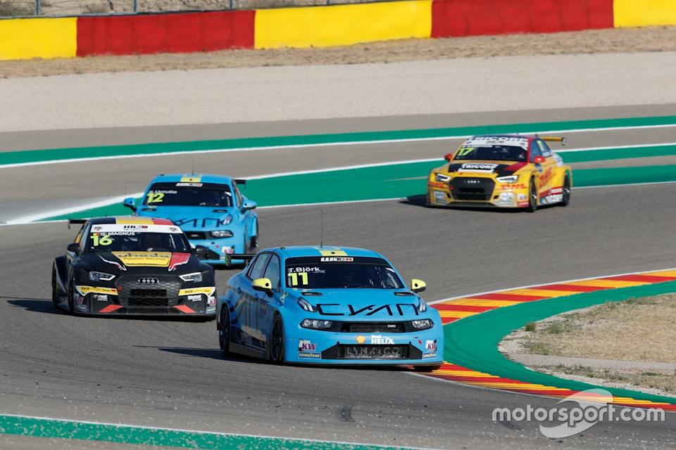 """Thed Björk, Cyan Performance Lynk & Co 03 TCR<span class=""""copyright"""">WTCR WTCR </span>"""