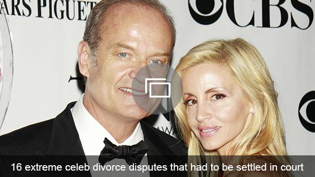 celeb divorces court slideshow