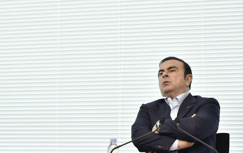 FILE PHOTO: Carlos Ghosn flees to Lebanon from Japan