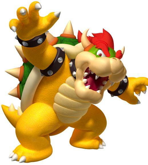 Mario's nemesis Bowser landed the top spot with more than 20% of the vote - narrowly beating sci fi puzzle game Portal's sinister GLaDOS robot.