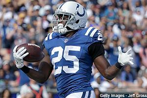 Patrick Daugherty breaks down all of Week 8's top plays, including RB1 Marlon Mack