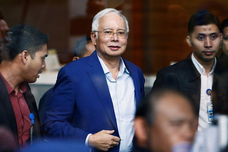 Former prime minister Datuk Seri Najib Razak tweeted his jibes today, not something he used to do. — Reuters pic