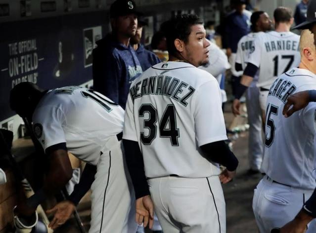 Seattle's Hernandez bumped from rotation and into bullpen