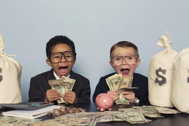 How to invest in shares for your kids. Source: Getty