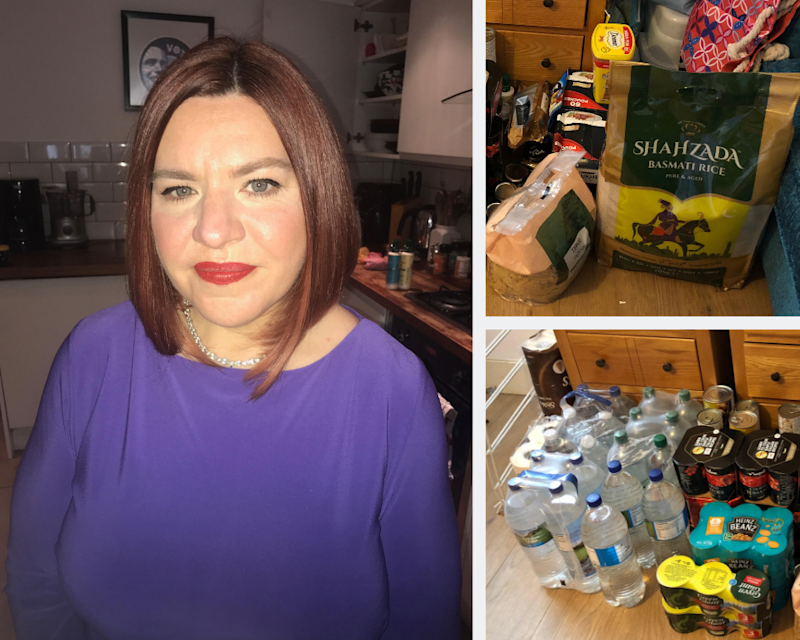 Emma Burnell has been stocking up on ingredients for her favourite meals for Brexit. Photo: Emma Burnell / Handout