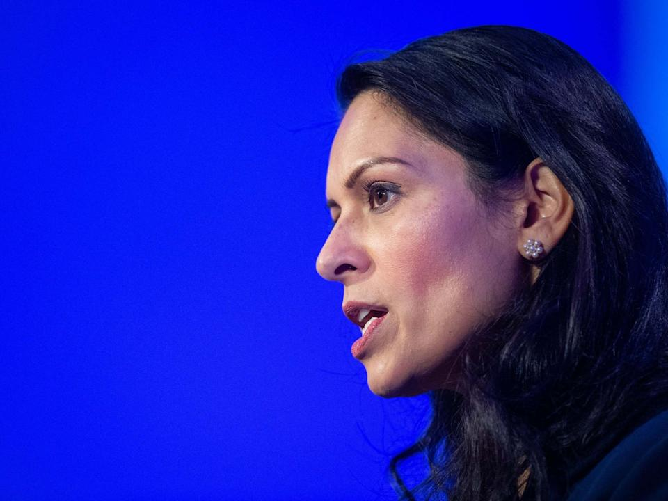Priti Patel is to announce new immigration rules on Monday: PA