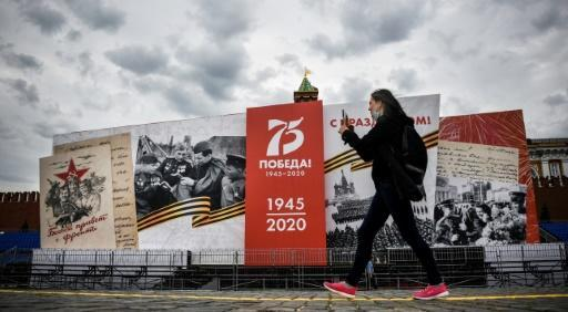Wednesday's parade marking 75 years since the end of World War II was orginally slated for May 9