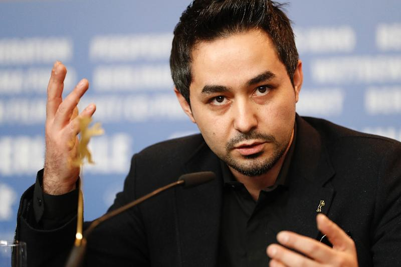 """Syrian-Finnish actor Sherwan Haji plays the role of a Syrian migrant in """"The Other Side of Hope"""", showing in competition at the Berlinale film festival (AFP Photo/Odd ANDERSEN)"""