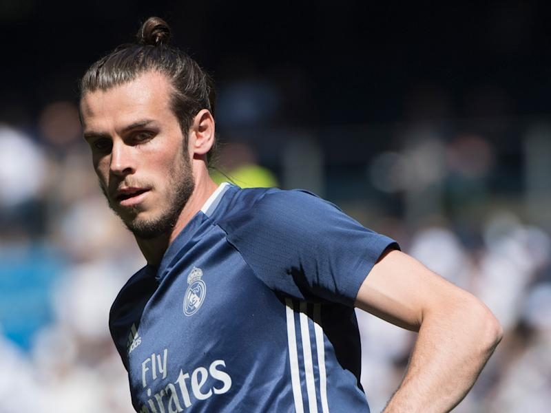 Gareth Bale missed Tuesday's Champions League quarter-final against Bayern: Getty
