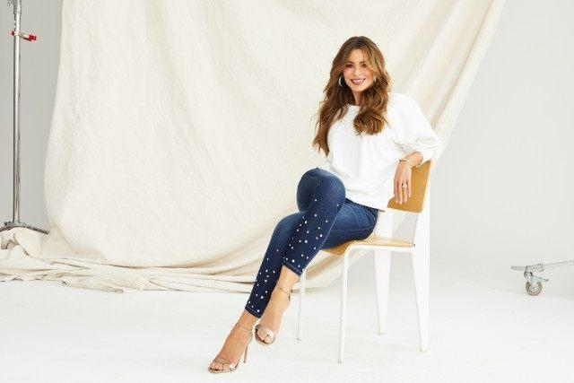 The 'Modern Family' star has created a new denim line with women in mind.
