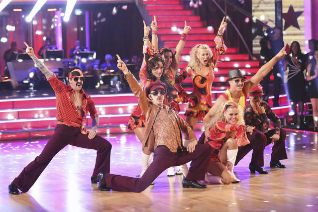 """Eight remaining couples hit the dance floor and paid tribute to singer, songwriter and legend Stevie Wonder, on """"Dancing with the Stars."""""""