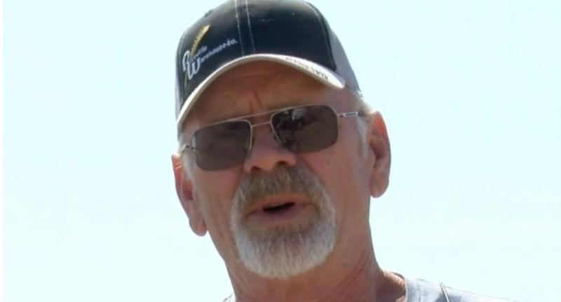 US farmer Larry Yockey is suffering from stage four cancer.
