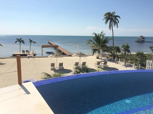 This three bedroom villa includes a private beach, two caretakers,an infinity pool and airport pickup and dropoff. <span>Check it out</span>.
