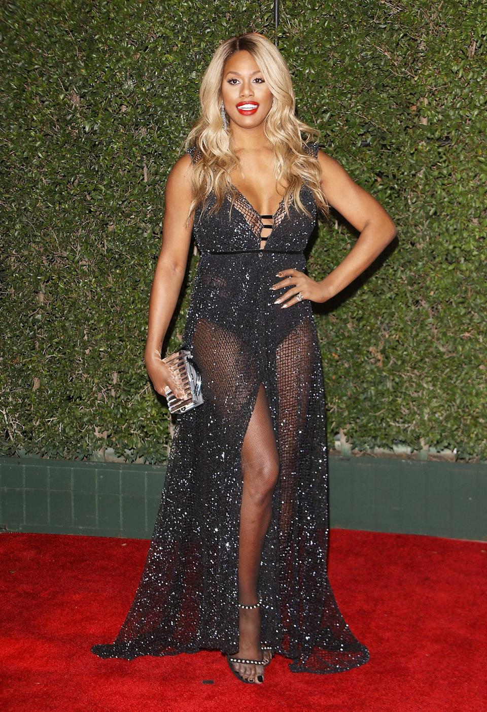 Laverne Cox NAACP Image Awards