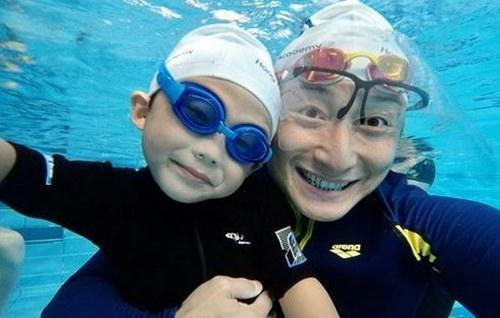 Alex is the co-founder of a swimming academy in HK